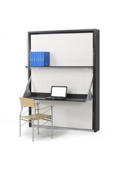 Cama abatible 1.5  Con mesa escritorio