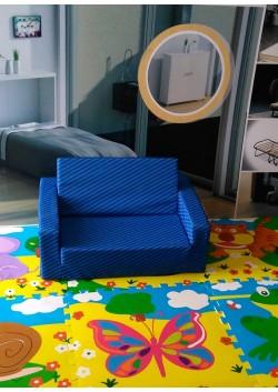 Sofa Cama Infantil Espuma Zebra