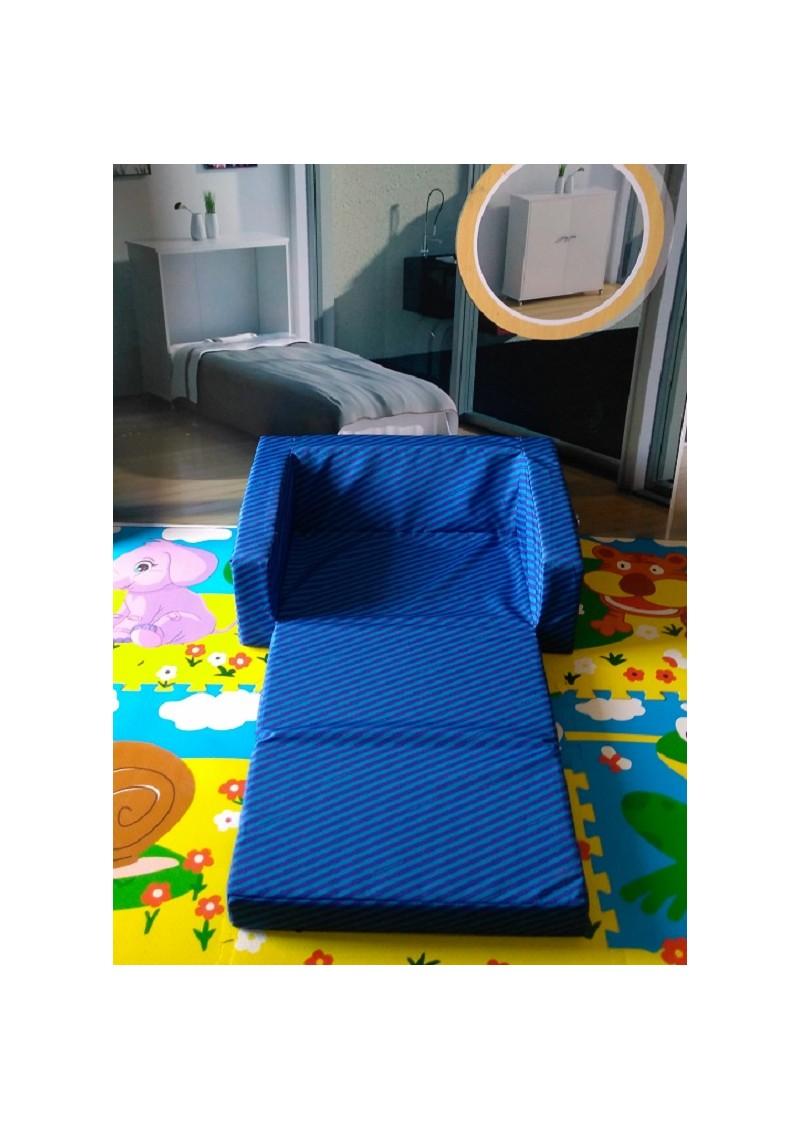 Sofa cama infantil espuma zebra practiletto - Sofa cama infantil ...